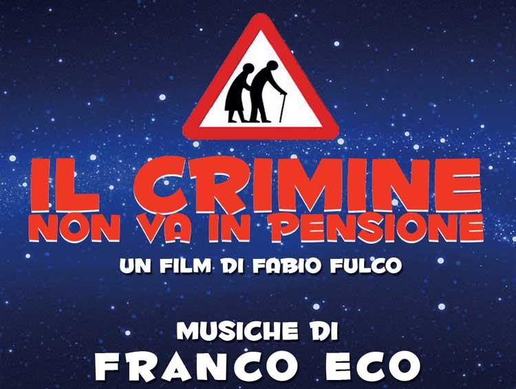 ''Il crimine non va in pensione'': questa sera su Rai 1 con la colonna sonora di Franco Eco