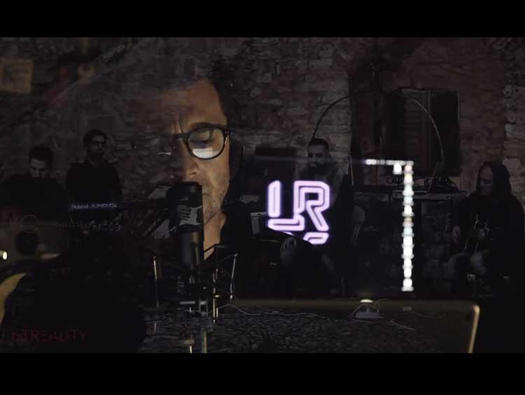 L'attore Vinicio Marchioni interpreta brano della band crotonese ''Lost Reality''